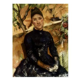 Carte Postale Madame Cezanne dans le conservatoire