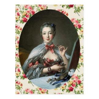 Carte Postale Madame de Pompadour
