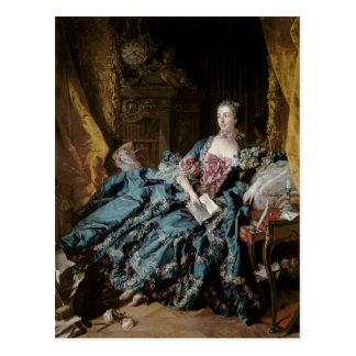 Carte Postale Madame de Pompadour, 1756