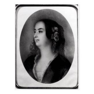 Carte Postale Madame Hanska gravée par Emile Lassalle