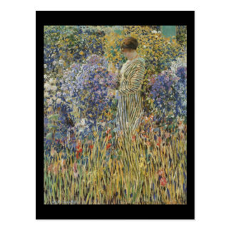 Carte Postale Madame In A Garden de Frieseke