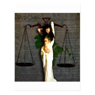 Carte Postale Madame Justice