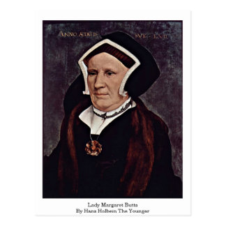 Carte Postale Madame Margaret Butts By Hans Holbein le plus
