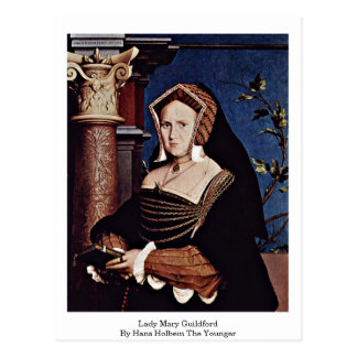 Carte Postale Madame Mary Guildford By Hans Holbein le plus