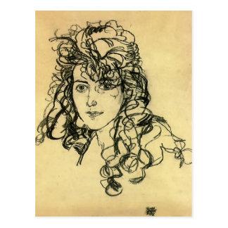 Carte Postale Madame Sohn d'Egon Schiele-