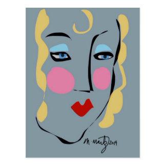 Carte Postale Madeleine était folle pour Matisse