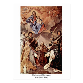 Carte Postale Madonna couronné par Guido Reni
