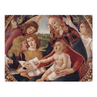 Carte Postale Madonna le magnifique