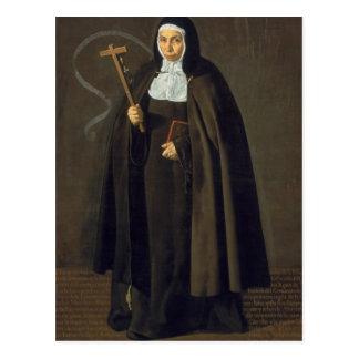Carte Postale Madre Maria Jeronima de la Fuente, 1620