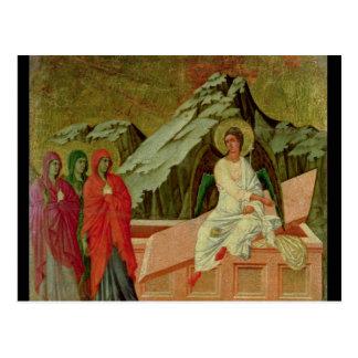 Carte Postale Maesta : Les trois Maries à la tombe du Christ
