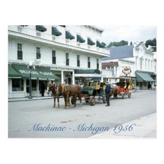 Carte Postale Magasin 1956 de fondant du Michigan d'île de