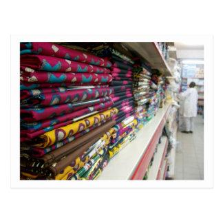 Carte Postale Magasin de textile, Abuja