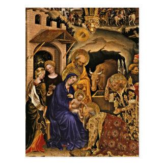 Carte Postale Magi de dei d'Adorazione