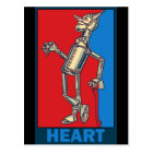 Carte Postale Magicien d'Oz de Denslow : Coeur