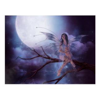 Carte Postale Magie de clair de lune