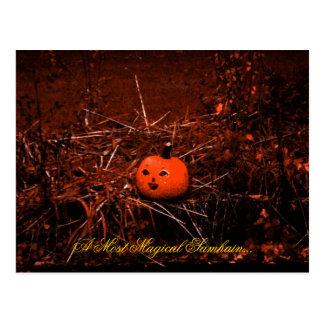 Carte postale magique de Samhain