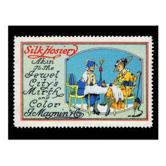 Carte postale Magnin San Francisco de timbre de
