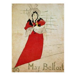 Carte Postale Mai Belfort, France, 1895