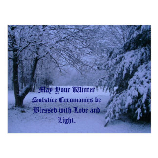 Carte postale, mai votre solstice d'hiver Cerom… Carte Postale