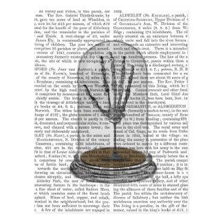 Carte Postale Main squelettique dans cloche en verre 2