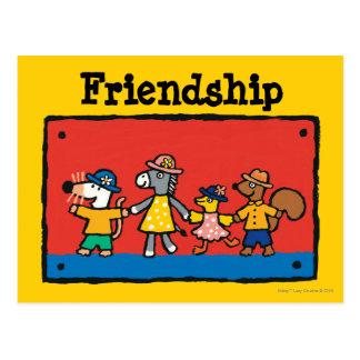 Carte Postale Mains de prise de Maisy et de meilleurs amis