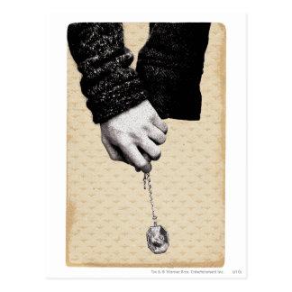 Carte Postale Mains se tenantes du charme | de Harry Potter avec