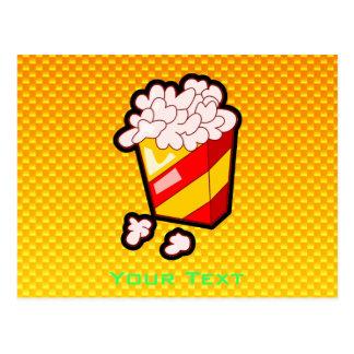 Carte Postale Maïs éclaté jaune-orange