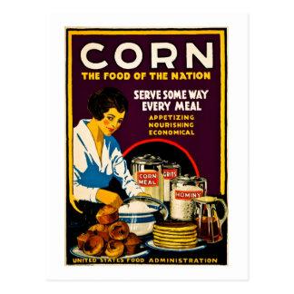 Carte Postale Maïs - la nourriture de la nation