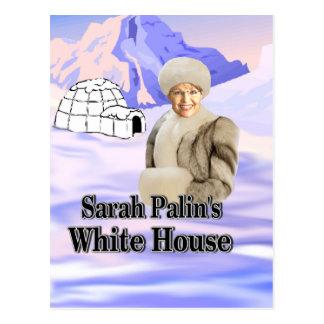 Carte Postale maison de blanc de sarahs