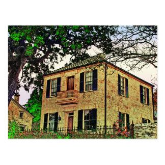 Carte Postale Maison de Charles Jung, Fredericksburg, TX