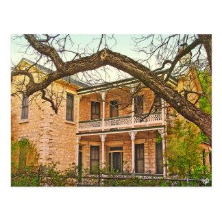 Carte Postale Maison de William Bierschwale, Fredericksburg, TX