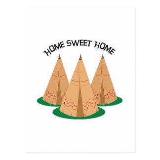Carte Postale Maison douce à la maison
