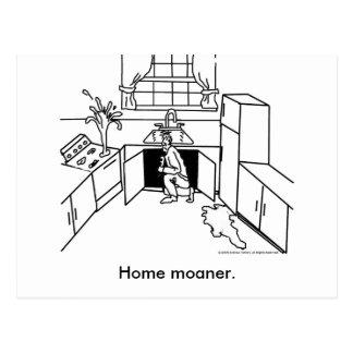 Carte Postale Maison-Moanership, moaner. à la maison
