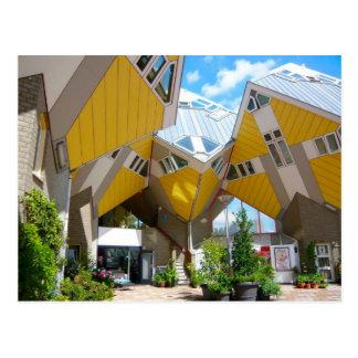Carte Postale Maisons de cube, Rotterdam Blaak