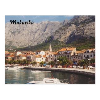 Carte Postale Makarska