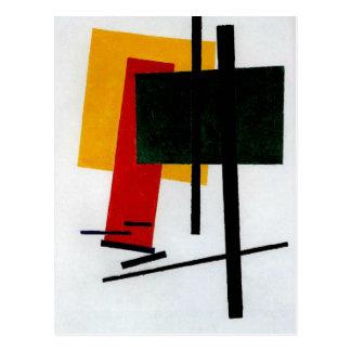 Carte Postale Malevich - Suprematism 1915
