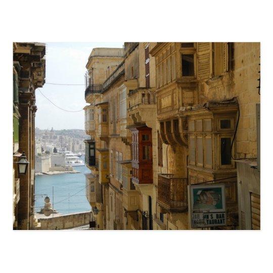 Carte Postale Malta - Valetta - Higher Street