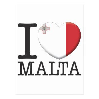 Carte Postale Malte