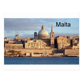 Carte Postale Malte La Valette (St.K)