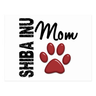 Carte Postale Maman 2 de Shiba Inu