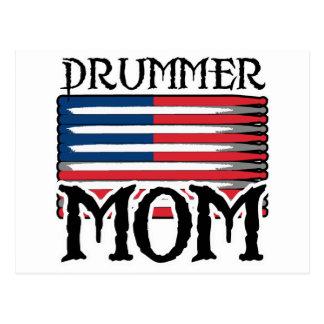 Carte Postale Maman de batteur
