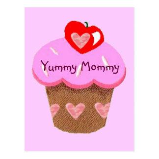 Carte Postale Maman délicieuse, petit gâteau pour la maman