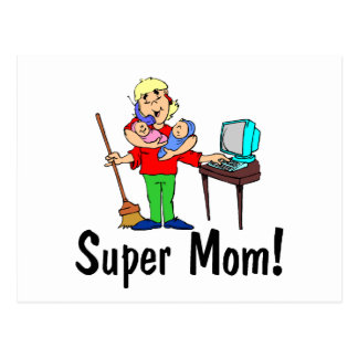 Carte Postale Maman superbe (4h du matin)