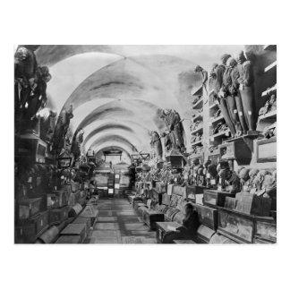 Carte Postale Mamans des catacombes de Palerme, Italie