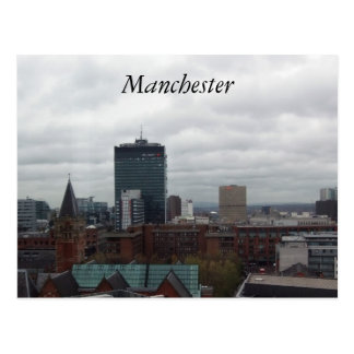 Carte Postale Manchester
