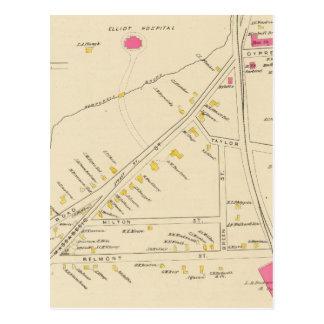 Carte Postale Manchester, NH, gardent 6 2
