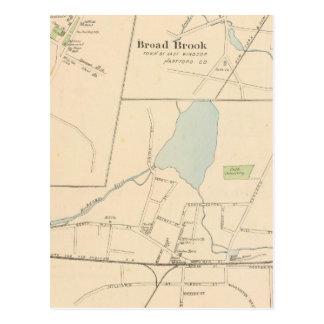 Carte Postale Manchester, Suffield, large ruisseau