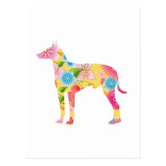 Carte Postale Manchester Terrier