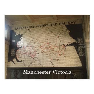 Carte Postale Manchester Victoria