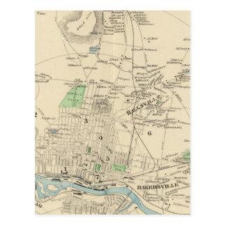 Carte Postale Manchester, ville de NH, ville